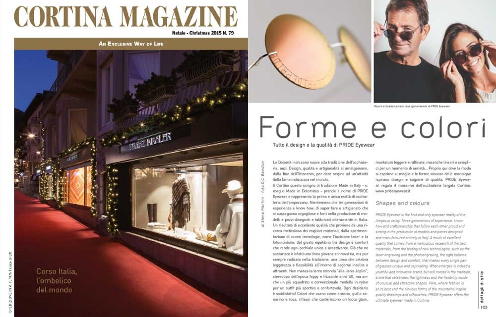 Cortina Magazine Natale 2015