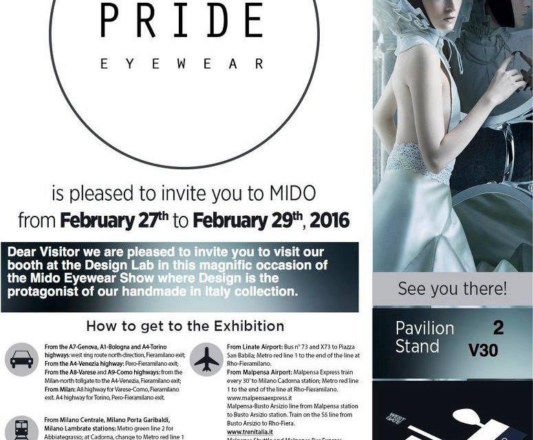 MIDO 2016 Pride Eyewear
